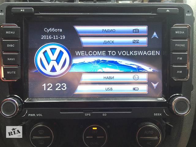 """Штатная NAVI DVD автомагнитола 7"""" TFT LCD VW Polo Golf 5 6 Passat CC Jetta Touran Skoda T5- объявление о продаже  в Одессе"""