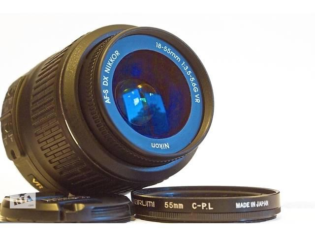 бу Штатный объектив с УЗ-мотором Nikon 18-55mm 1:3.5-5.6G VR AF-S DX в Одессе