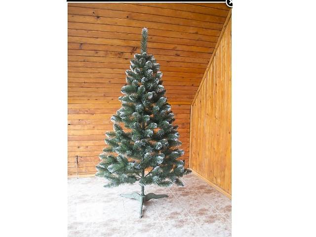 бу Искусственная елка с белыми кончиками новогодняя елка ОТ ПРОИЗВОДИТЕЛЯ в Каменец-Подольском