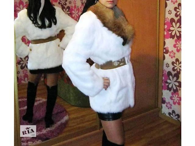 продам Шуба кролик-лисиця бу в Дрогобыче
