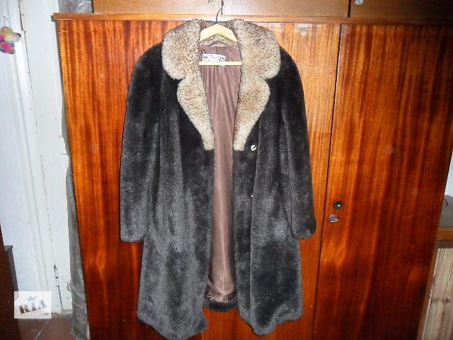 продам Шуба новая,тёплая с цигейковым воротником,Чехословакия,размер 52-54. бу в Чернигове