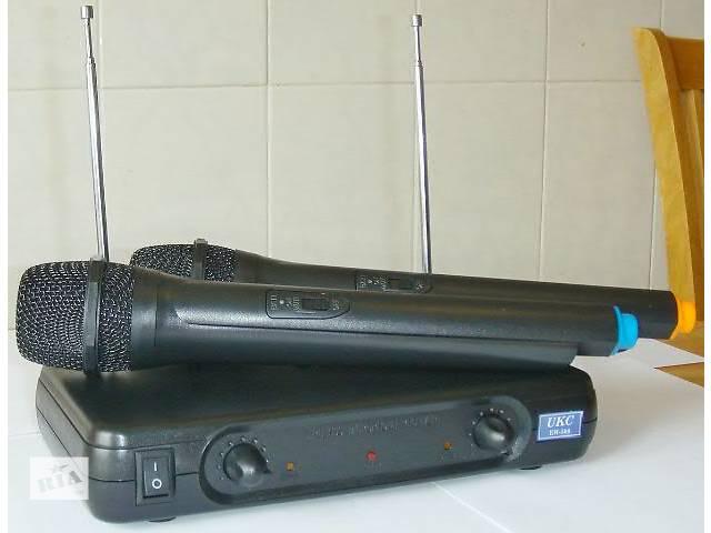 купить бу Shure SM-388 радиосистема 2 радиомикрофона в Киеве