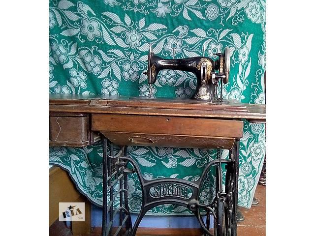 Швейна машинка  STOEWER- объявление о продаже  в Залещиках