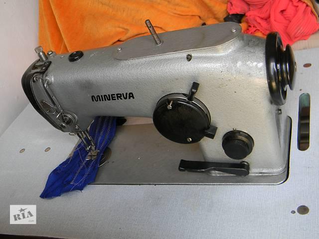 купить бу Швейная машина минерва 335 Minerva 72520 зигзаг челноки в Виннице