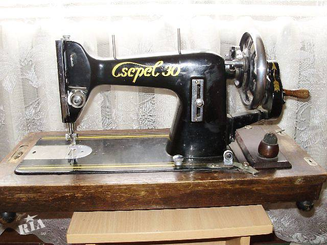 Csepel 30 Швейная Машинка Инструкция - фото 3
