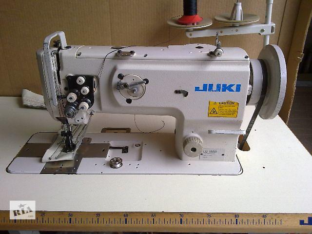 Швейная машина Джуки LU-1560. Двухигольная- 12мм.- объявление о продаже  в Киеве