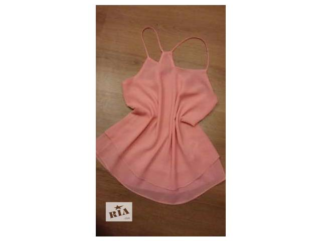 бу Шифоновая яркая блуза-топ для леди в Луцке