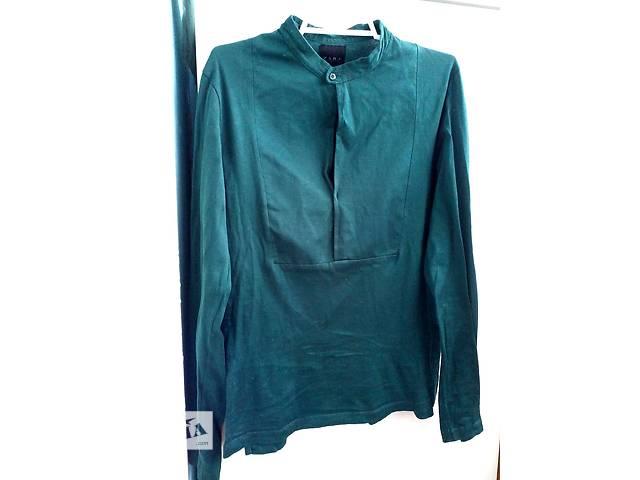 продам Шикарная блуза-кофточка изумрудного цвета от zara бу в Киеве