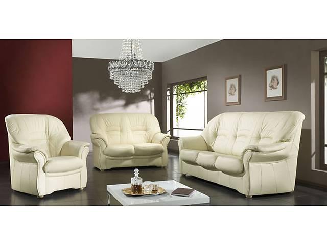 купить бу Шыкарная мягкая мебель с Европы,мебель Jupiter 3+1+1, кожаный угловой диван в Дрогобыче