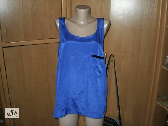 Шикарная Ультрамариновая Блуза Р.18- объявление о продаже  в Каменском (Днепродзержинске)