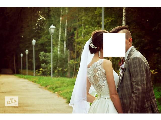 продам Шикарное свадебное платье не дорого  бу в Виннице