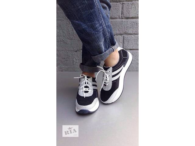 продам Шикарные кроссовки,натуральная замша(3 цвета) бу в Харькове