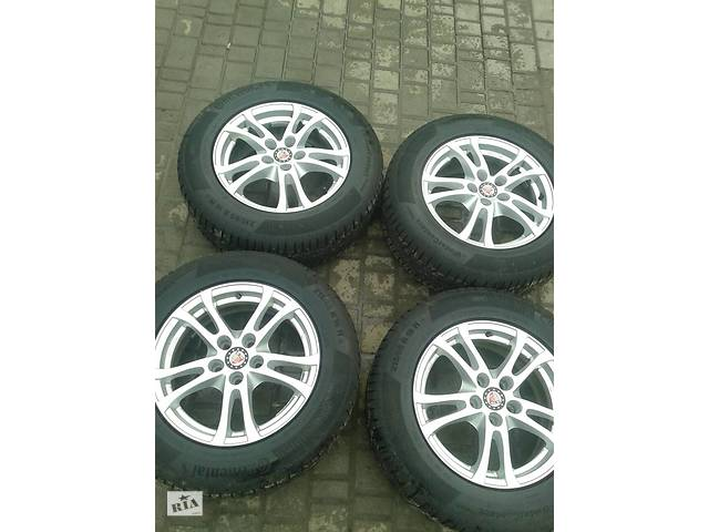 продам Диски титаны R16 (5*112) титани  Mercedes/Audi/Volkswagen/Skoda бу в Ровно