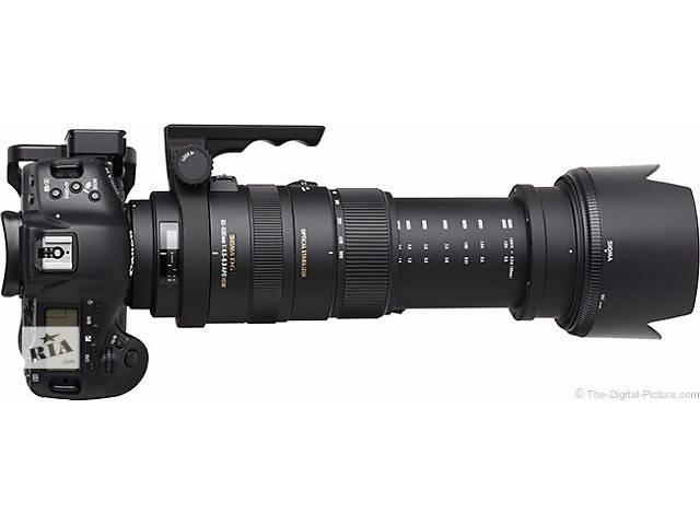 продам Sigma 50-500mm f/4-6.3 APO DG HSM для Canon + УФ-фильтр в подарок)) Новый! бу в Одессе