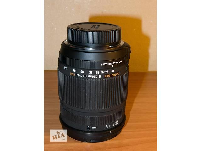 продам Sigma dc 18-250 1:3,5-6,3HSM nikon бу в Киеве