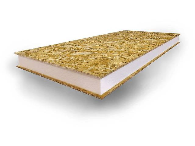 Сэндвич панели ОСП (sip панели osb) 2500х1250х160 (10) /сип панели осб/- объявление о продаже  в Белой Церкви