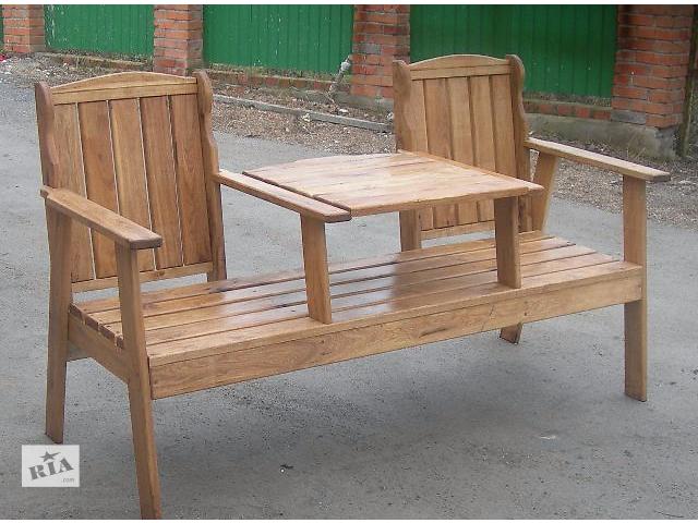 купить бу Скамейка стол из дуба в Виннице