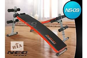 Скамья многофункциональная для тренировок Neo-Sport 09 новый. В наличии. Отправка по Украине 1-3дня!!