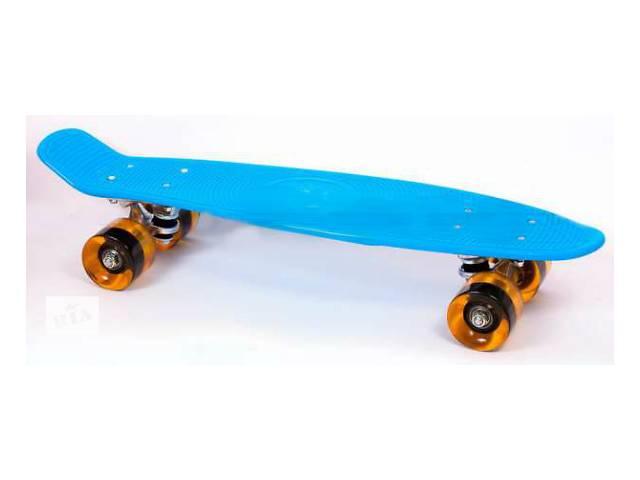 купить бу Скейт Penny 22-K Cruiser Fish Line пенни 56см skate board в Киеве