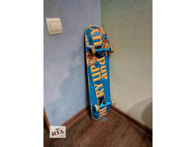 бу Скейтборд (skateboard) Anti Hero Hurry Up 7.75 deck в Днепре (Днепропетровск)