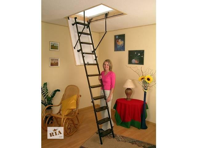 продам Складная чердачная лестница Oman METAL T 3 бу в Киеве