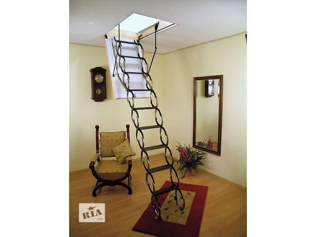 купить бу Складная чердачная лестница Oman NOZYCOWE NT в Киеве