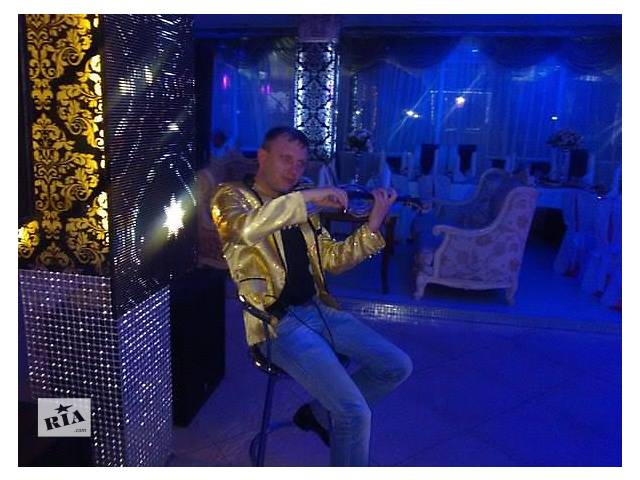 продам Скрипач и саксофонист на праздник, приём, свадьбу, корпоратив. Музыка бу  в Украине