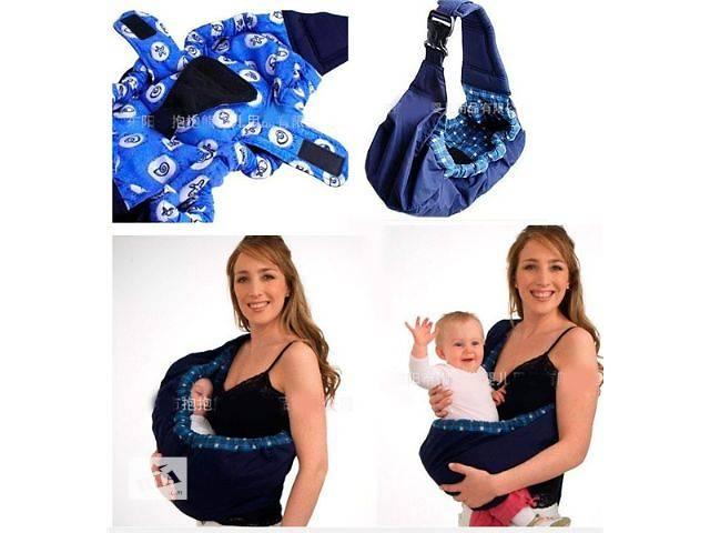 Слинг - сумка через одно плечо для переноски ребенка, очень удобно и надежно- объявление о продаже  в Киеве