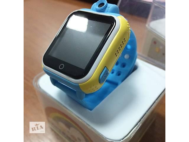 купить бу Smart baby watch Q200 Оригинал! Детские GPS часы в Киеве