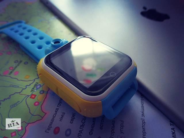 купить бу Smart baby watch Q200 Оригинал! Детские GPS часы в Харькове