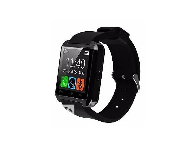 купить бу Смарт часы Smartwatch U8 черные в Харькове