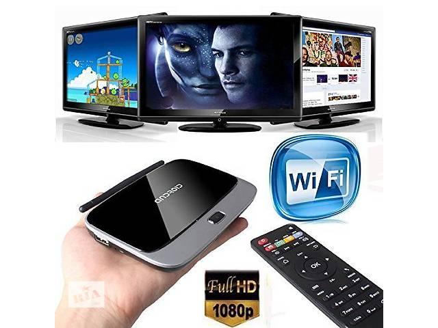 купить бу Смарт тв приставка CS918 Q7 2Г ОЗУ Оригинал Smart TV Quad Core, 2G DDR  в Харькове