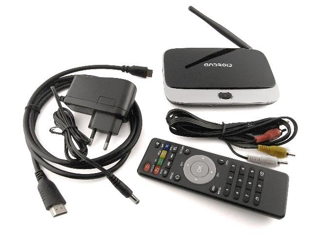 купить бу Smart TV медиа плеер CS918 (MK888) Rockchip RK3188 2Гб ОЗУ Android 4.4 в Одессе