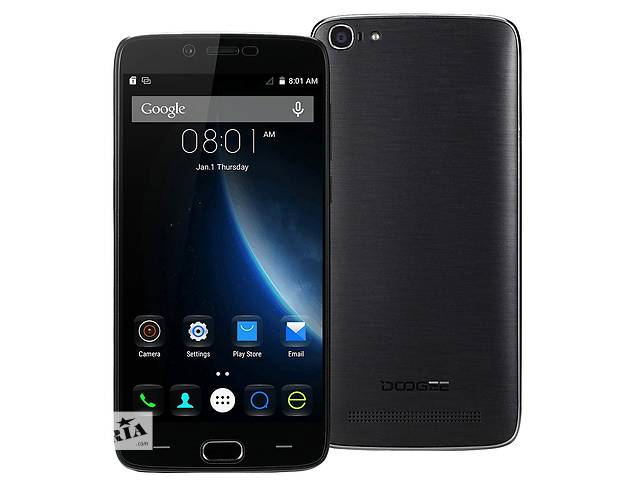 купить бу Смартфон DOOGEE Y200 Quad Core MTK6735, 1280x720, 2/32 Black в Львове