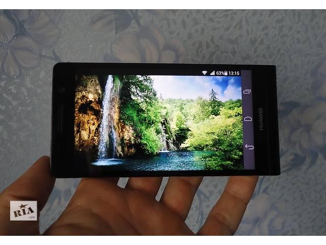 Смартфон Huawei Ascend P6-U06 Black. Оригинал! Состояние!- объявление о продаже  в Сумах