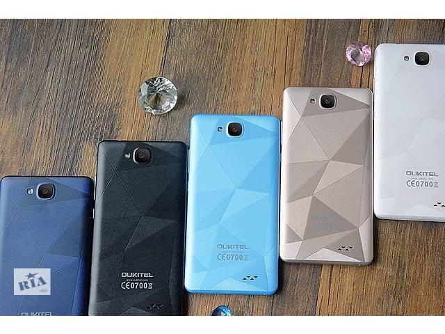 бу смартфон Oukitel C3 экран 5 ядер 4 две камеры 8МР + чехол в подарок в Кривом Роге