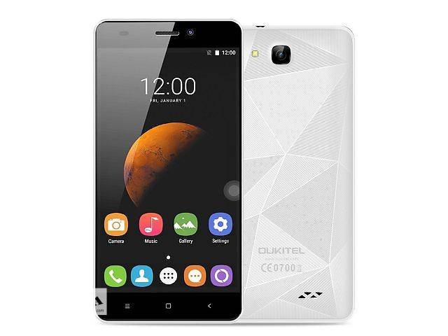 бу Смартфон Oukitel C3 Quad Core MTK6580A, 1280x720, 1/8Gb Black Blue White в Львове