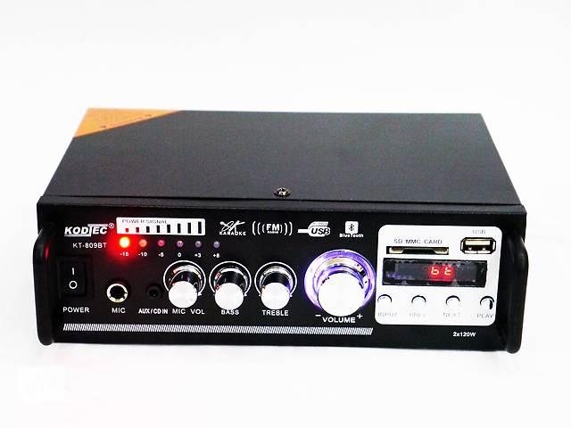 продам Усилитель звука KT-809BT, USB, SD, AUX, Bluetooth, Караоке    бу в Киеве