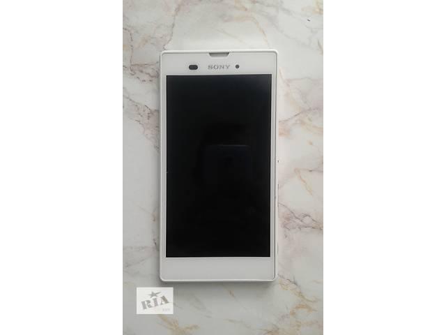 продам Смартфон Sony Xperia T3 D5102 White бу в Полтаве
