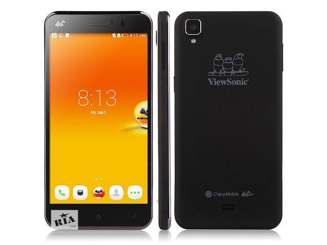 купить бу Смартфон ViewSonic V500 Quad Core MSM8926, 1920x1080, 2/16Gb Black в Львове