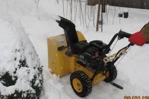 б/у Снегоуборочная техника