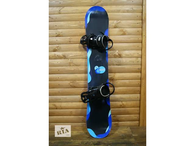 Сноуборд б/у Burton Genie 155см.⚡ + крепы Burton- объявление о продаже  в Киеве