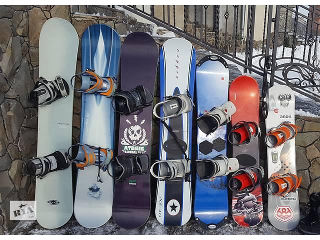 Сноуборды и ботинки (боты)- объявление о продаже  в Коломые