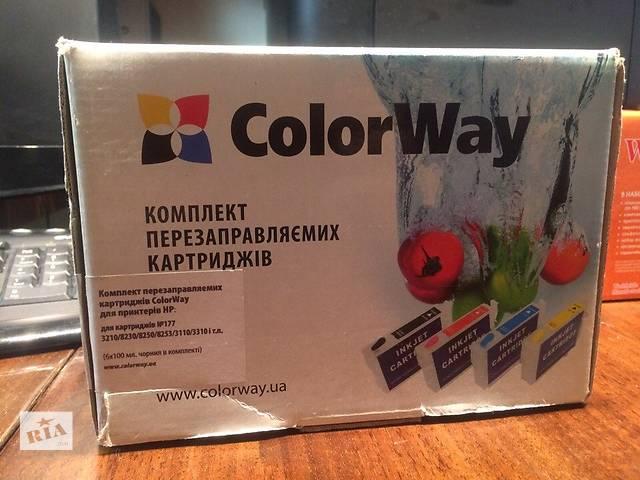 СНПЧ (ПЗК) для картриджей HP177- объявление о продаже  в Киеве