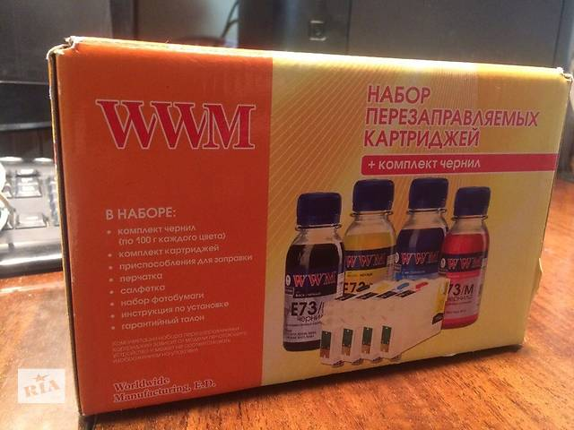 продам СНПЧ (ПЗК) Epson XP413 бу в Киеве