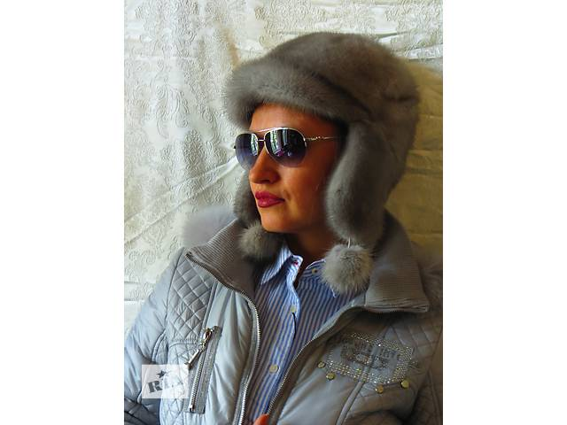продам согреет в холода.натуральная норка.шапка бу в Киеве