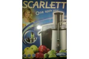Новые Электрические соковыжималки Scarlett