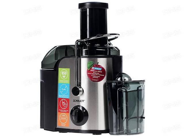 Соковыжималка мощная универсальная Scarlett SC-JE50S01 для твердых и мягких овощей/фруктов, целых яблок. Новая с уценкой- объявление о продаже  в Днепре (Днепропетровск)