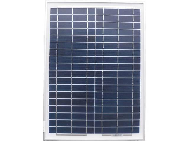 купить бу Солнечная батарея 20Вт, 12В, поликристаллическая в Запорожье