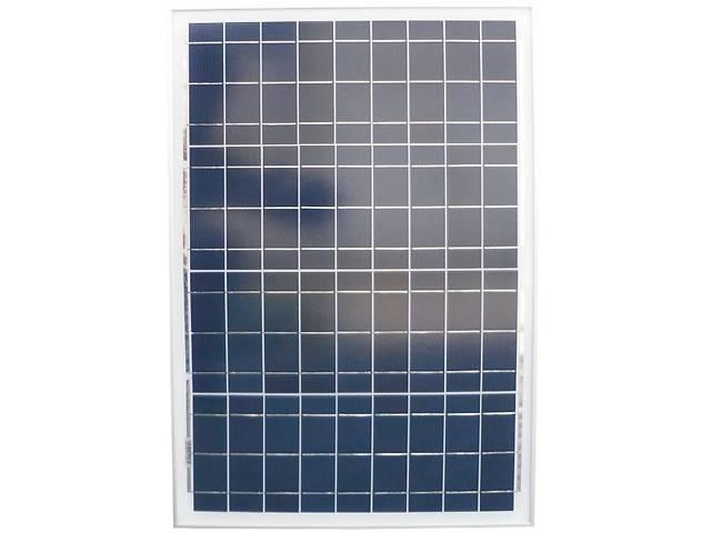 купить бу Солнечная батарея (панель) 40Вт, 12В, поликристаллическая в Запорожье